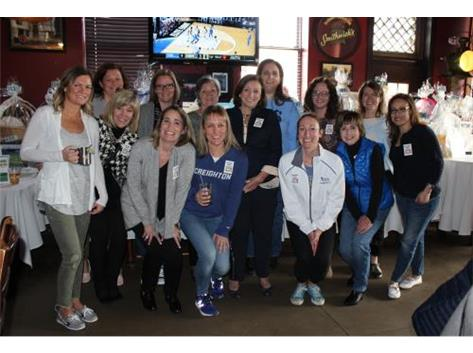 Rosary Alum at the 2018 March Madness Party!