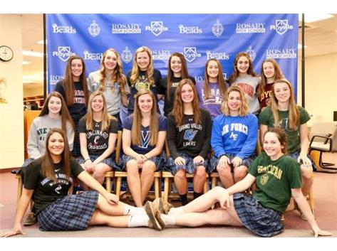 Congrats to our 2017-18 athletes who signed their NLI!
