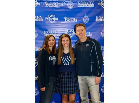 Emily Ryan Signed her NLI to Swim at Villanova University!