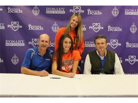 Brooke Delahanty Signing her NLI to University of Illinois!