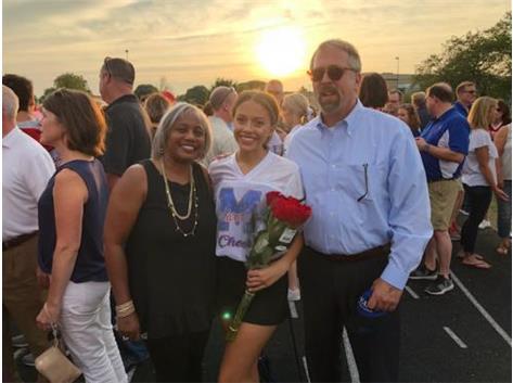 2019 Varsity Cheerleading Senior Sadie Fox!