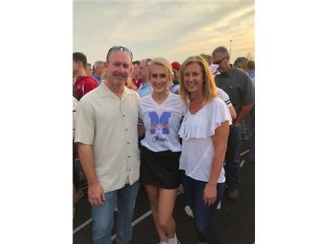 2019 Varsity Cheerleading Senior Emily Savarese!