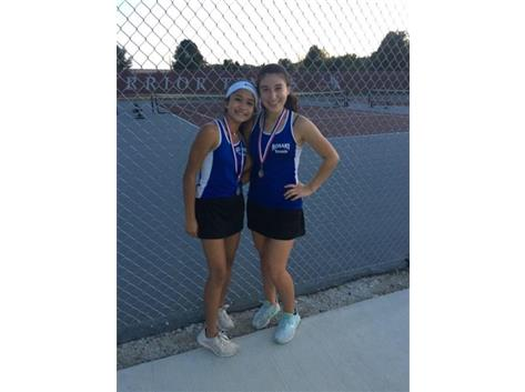 Congrats 2nd Place JV 1st Doubs!