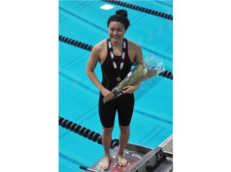 Athena Ye: 2018 State Champion in the 100 Fly!