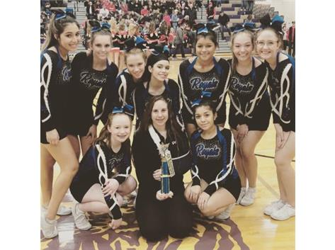 Rosary - Marmion Cheer placed 3rd at their first competition! Way to go ladies