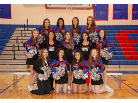 201-19 Rosary Royals Varsity Competitive Cheerleading team
