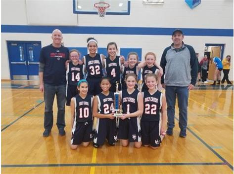 Congratulations to all who participated in Rosary's Sixth Grade Basketball Tournament last weekend! In first place was Holy Cross Blue, followed by St. Rita in second, then Holy Angels, Annunciation, Holy Cross Red, Pope St. John Paul II, St. Peter, and St. Patrick. Holy Cross Catholic School, Batavia St. Rita of Cascia School