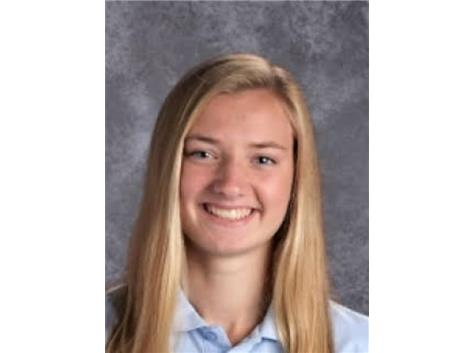 Congratulations to Rosary's Julie Bottarini who was one of 26 students state-wide selected for the IHSA All-State Academic Team. The 2019 #IHSA #AllState #Academic Team presented by @CaterpillarInc was announced today by @IHSA_il Assistant Executive Director @SLLambert7