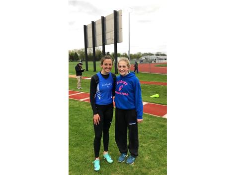 Two more state qualifiers from Triple Jump. Congratulations Lauren Roskuszka and Annie Molenhouse!