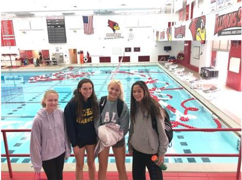 Rosary Divers at the dive clinic down at Illinois State University (9/8/19)