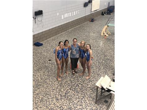 First dive meet of the season at Oswego (9/3/19)
