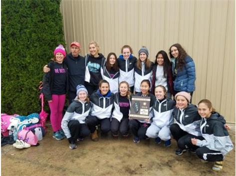 Varsity Cross Country - 2019 IHSA Regional Champions! Way to go ladies!