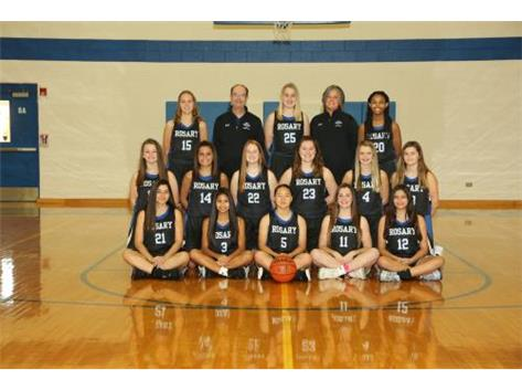 2019-2020 Rosary Royals Freshmen Basketball Team!