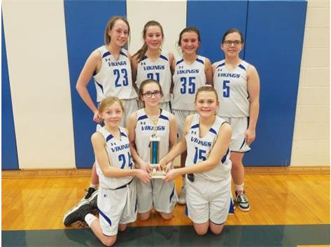 Rosary hosted our annual seventh grade basketball tournament January 17-19. Congrats on Second place, Annunciation!