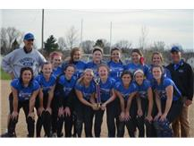 Congratulations Varsity Softball - 1st Place Orangeville Tournament!