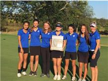 Congratulations to the Girls Golf team who took 1st at their Regionals!