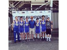 Congratulations to Jon Aquino,  Alex Hernandez, Joe Leo  & Dan Weizeorick who placed 7th at the IHSA State Track Competition in the 4 x 800 meter relay. Alex Hernandez also placed 7th at State in the 800 meters!