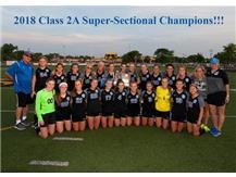 IHSA 2A Super-Sectional Soccer Champs! Congratulations!
