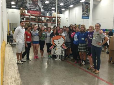 Girls Golf - Northern Illinois Food Bank