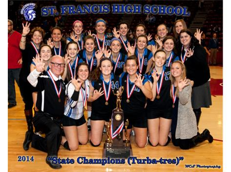 3A State Volleyball Champs!!!