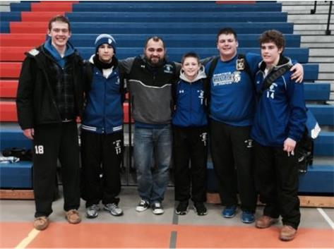 Congratulations and Good luck at Sectionals!