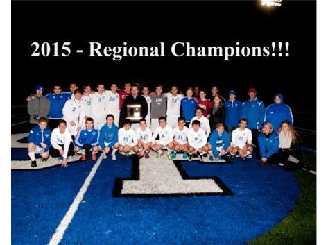 Congratulations to Boys Soccer! IHSA 2A Regional Champions!