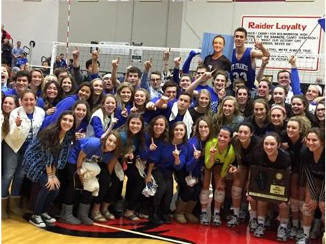 IHSA 4A Super-Sectional Champions! Good luck at State!!!