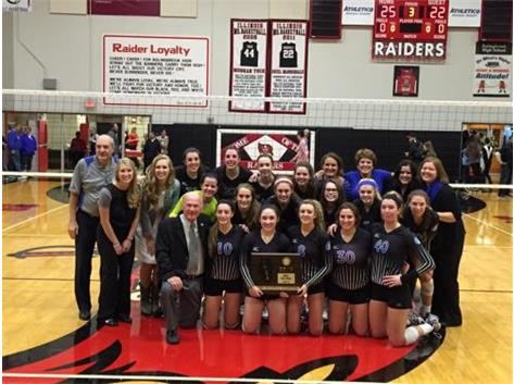 IHSA 4A Super-Sectional Champions! Good Luck at State!
