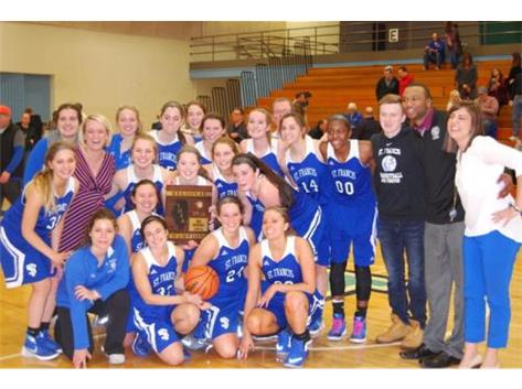 Congratulations to Girls Basketball - IHSA 3A Regional Champions!