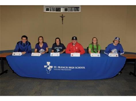 Bridget Doran(Winona State Univ), Molly Doran(Upper Iowa Univ), Will Purdom(Drake), Foster Heise(North Central Col), Jon Burke(EIU), Taylor Konchel (Judson Univ)