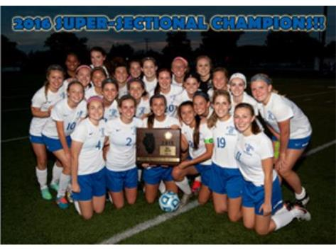 IHSA CLASS 2A SUPER-SECTIONAL CHAMPIONS! CONGRATULATIONS!