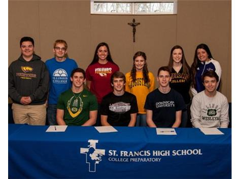 Spring National Signing Day - Congratulations!
