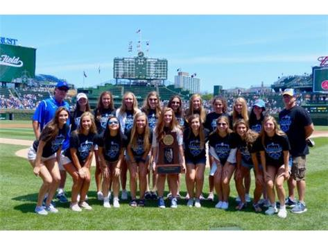 Girls State Team at Wrigley Field!