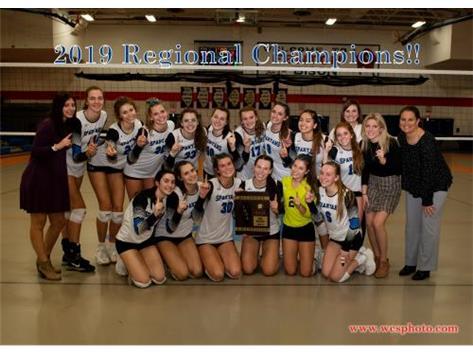 IHSA 3A Girls Volleybal Regional Champions!!!
