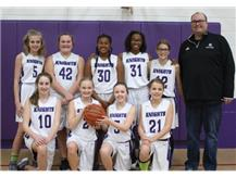 2018 Seventh Grade Girls Basketball