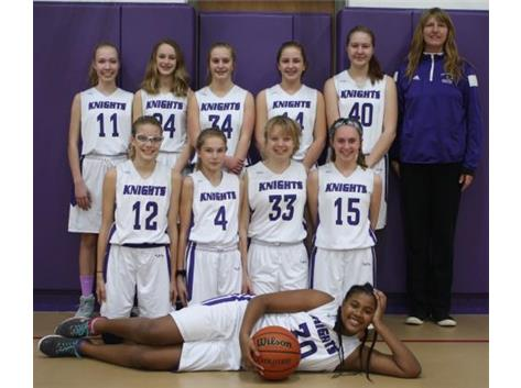 2018-2019 Eighth Grade Girls Basketball