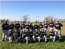 JH Baseball Team 2016