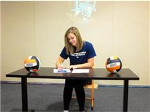 Congrats to Bailey Cummings who will be playing volleyball at Cornerstone University in the fall of 2017!