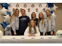 Lauren Cummings signs to play volleyball at Division II Palm Beach Atlantic!