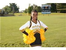 Senior Cidney Jones-Lawson