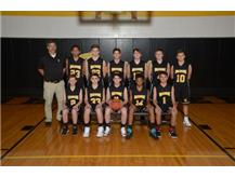 8th Boys Basketball 2017-18