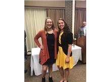 Emily Lord and Olivia Potts, 2018 All County Girls Basketball!