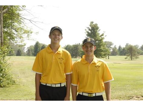 Returning Golf Lettermen