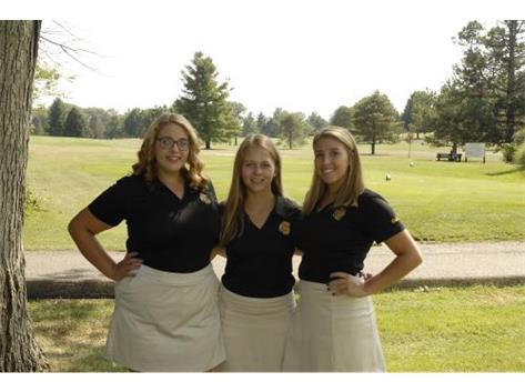 Girls Golf Returning Letterwinners