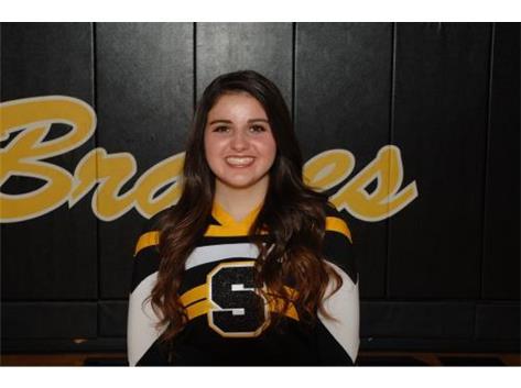 Senior Gabrielle Barnes