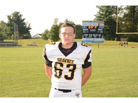 Senior Eli Wade