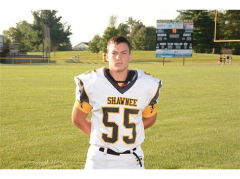 Senior Cole Vasileff