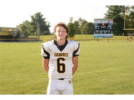 Senior Aaron Schack