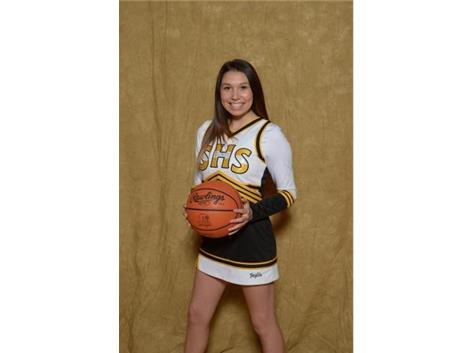Senior Jaylin Haffner
