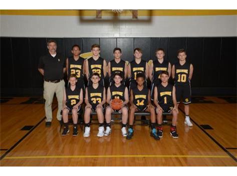 8th Boys Basketball 2017-18